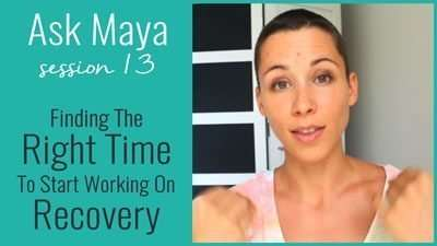 Finding The Right Time To Start Working On Recovery