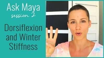 Dorsiflexion and Winter Stiffness
