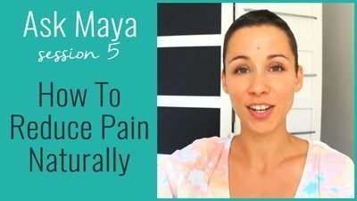 How To Reduce Pain Naturally