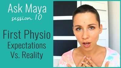 (Your) First Physio – Expectations Vs. Reality